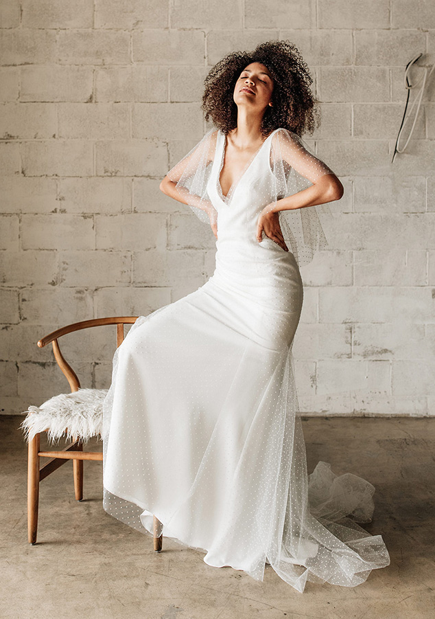 Anais Anette wedding dresses available at top Los Angeles and Orange County bridal shop, Love and Lace Bridal Salon.