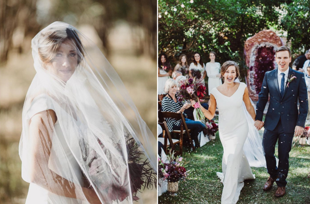Real Love and Lace Brides | Theia Daria gown - Steve Cowell Photography - www.loveandlacebridalsalon.com/blog