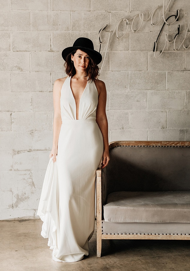 Theia Bridal wedding dresses available at top Los Angeles and Orange County bridal shop, Love and Lace Bridal Salon.