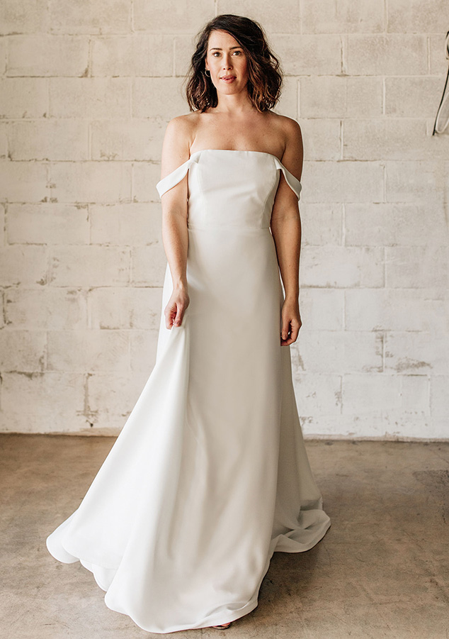 Tara LaTour wedding dresses available at top Los Angeles and Orange County bridal shop, Love and Lace Bridal Salon.