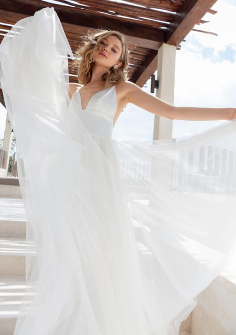 Scout Bridal wedding dresses available at top Los Angeles and Orange County bridal shop, Love and Lace Bridal Salon.