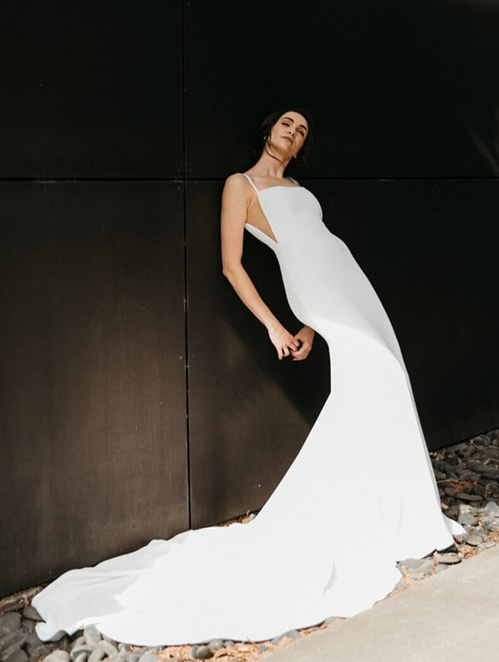 Alyssa Kristin wedding dresses available at top Los Angeles and Orange County bridal shop, Love and Lace Bridal Salon.