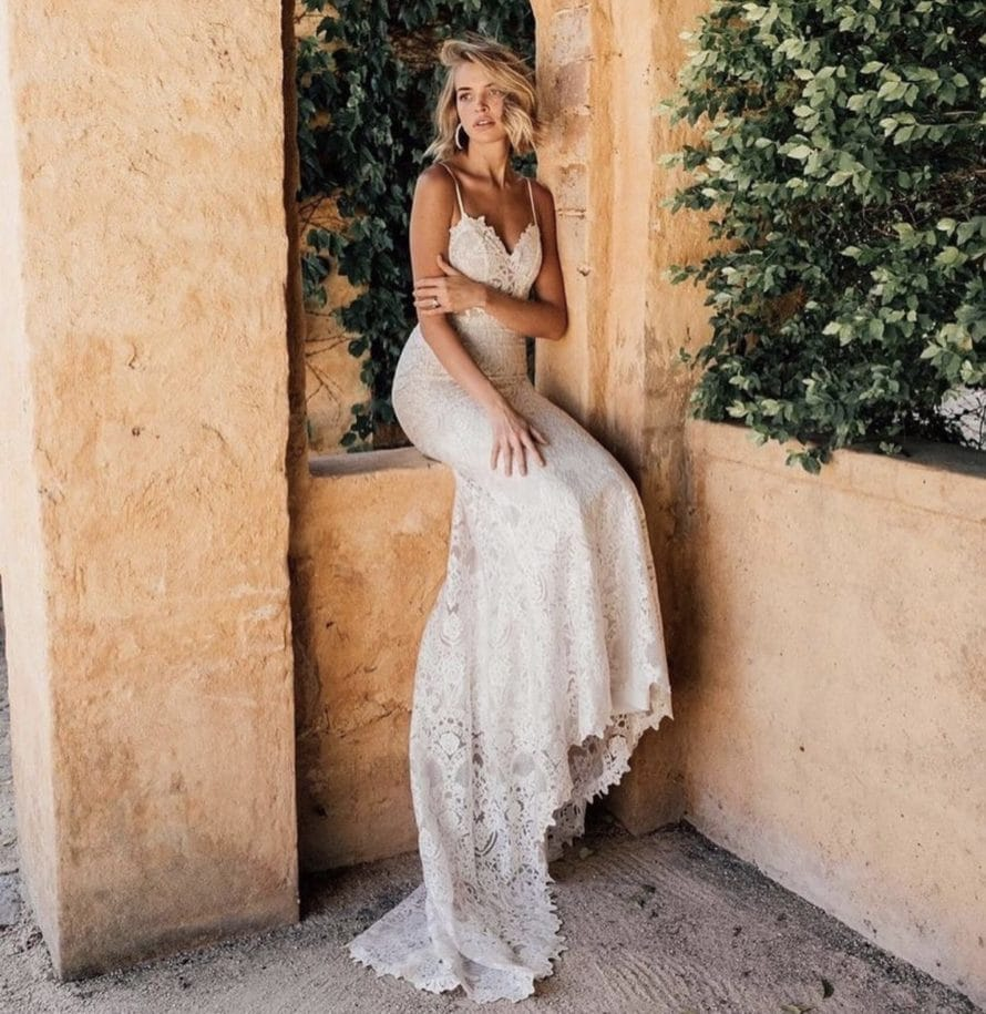 Flynn bridal gown, In the Name of Love collection from Made With love, available at top California bridal shop, Love and Lace Bridal Salon