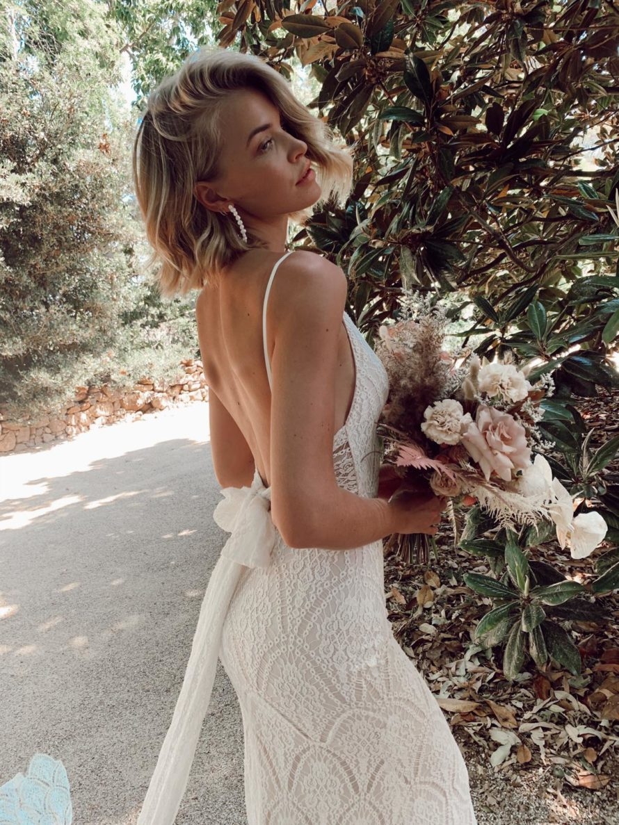 Joey bridal gown, In the Name of Love collection from Made With love, available at top California bridal shop, Love and Lace Bridal Salon