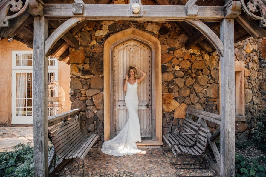 Scottie bridal gown, In the Name of Love collection from Made With love, available at top California bridal shop, Love and Lace Bridal Salon