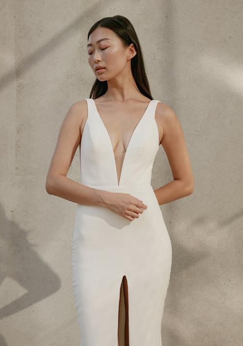 Simple Crepe Dress