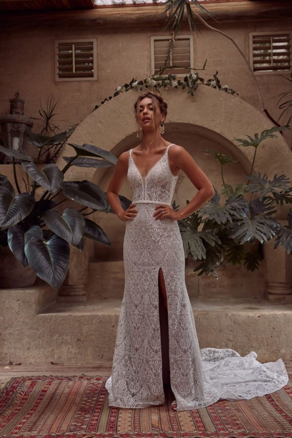 Evie Young Bridal's BREEZE available at top Irvine Bridal Shop, Love and Lace Bridal Salon