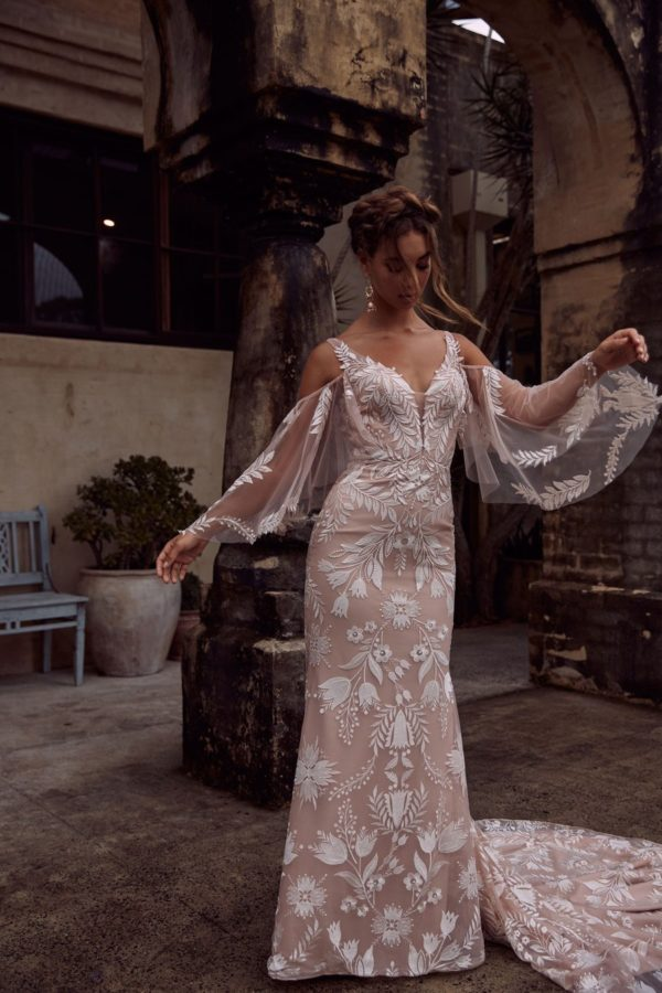 Evie Young Bridal's EMBER available at top Irvine Bridal Shop, Love and Lace Bridal Salon
