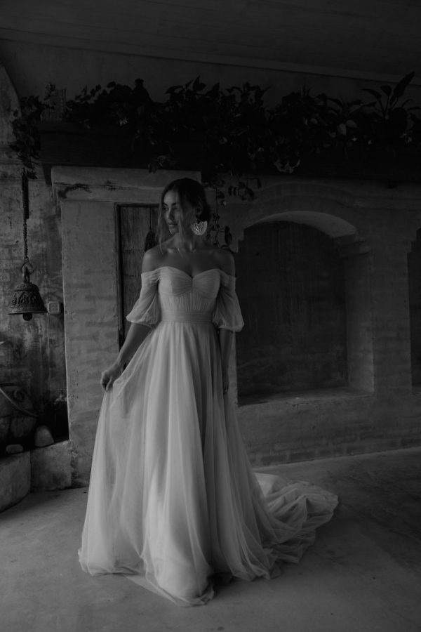 Evie Young Bridal's SIERRA available at top Irvine Bridal Shop, Love and Lace Bridal Salon