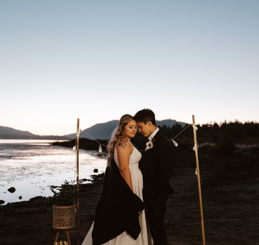 California Winter Wedding with top Orange County bridal shop, Love and Lace Bridal Salon